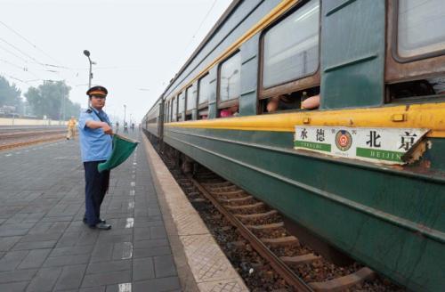 即將走入歷史的綠皮火車